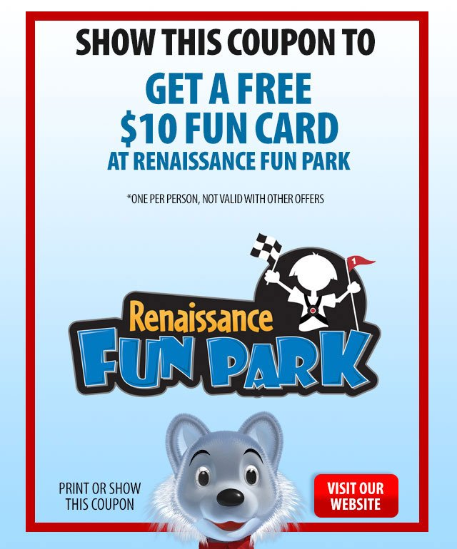Renaissance Fun Park Coupon