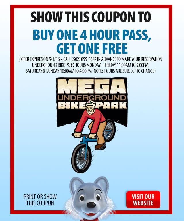 Mega Underground Bike Park Coupon