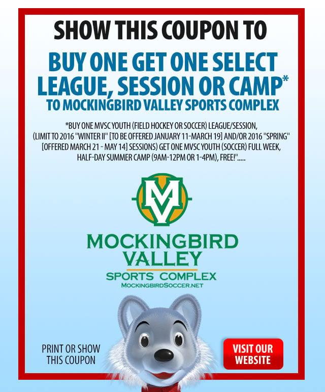 Mockingbird Valley Coupon