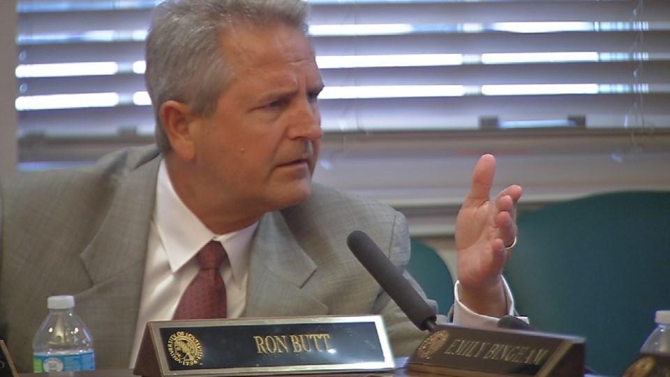University of Louisville trustee Ron Butt