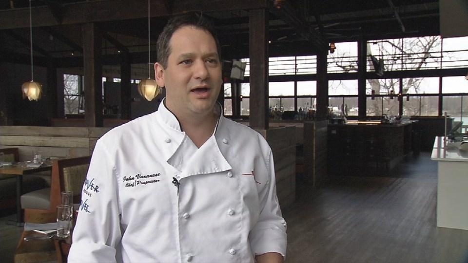Owner and executive chef John Varanese