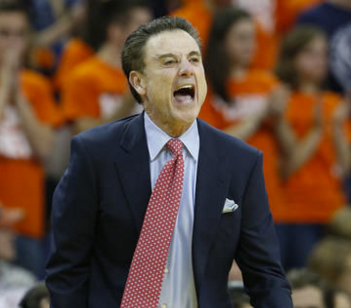 Rick Pitino talked like a guy who expects to be Louisville's coach next season.