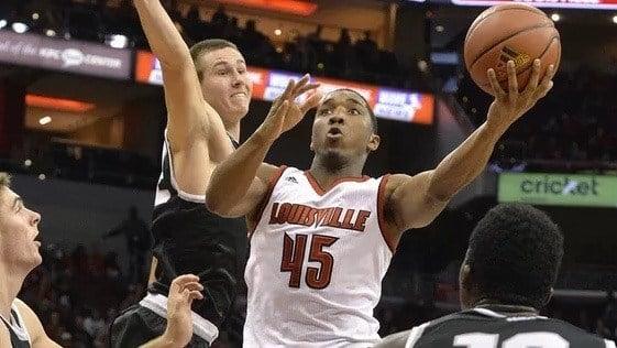 Louisville's Donovan Mitchell. (AP photo)