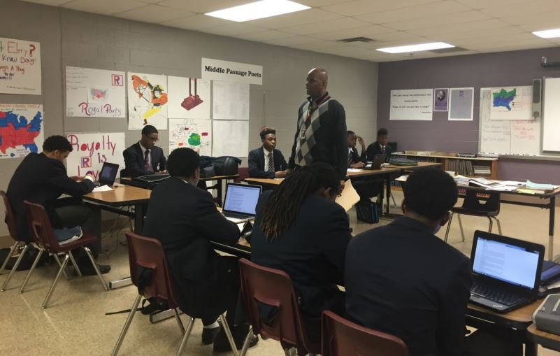 Carter G. Woodson Academy in Lexington is part of the Fayette County Public Schools (Photo by Samantha Chatman, WDRB News)