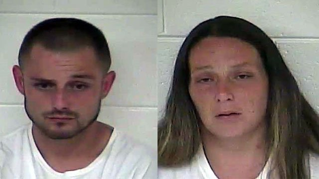 Jarod Martin and Lisa Payton (Source: Carroll County Detention Center)