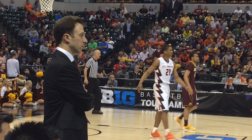 Richard Pitino's Minnesota team lost to Illinois in the Big Ten Tournament Wednesday.