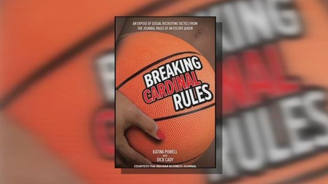 "Katina Powell's 2015 tell-all book ""Breaking Cardinal Rules"""