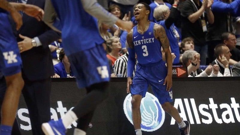 Kentucky guard Tyler Ulis. (AP photo)