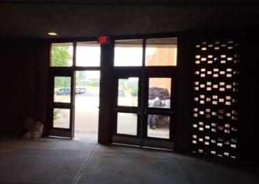 The entrance of Ballard High School (WDRB file photo)