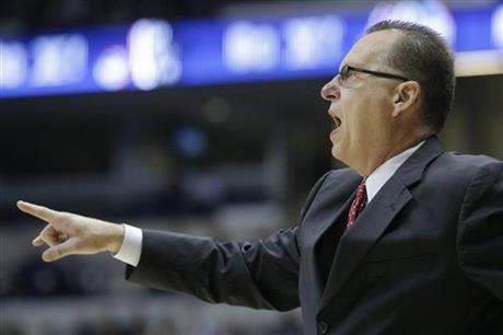 Ray Harper has resigned as basketball coach at WKU. (AP photo)