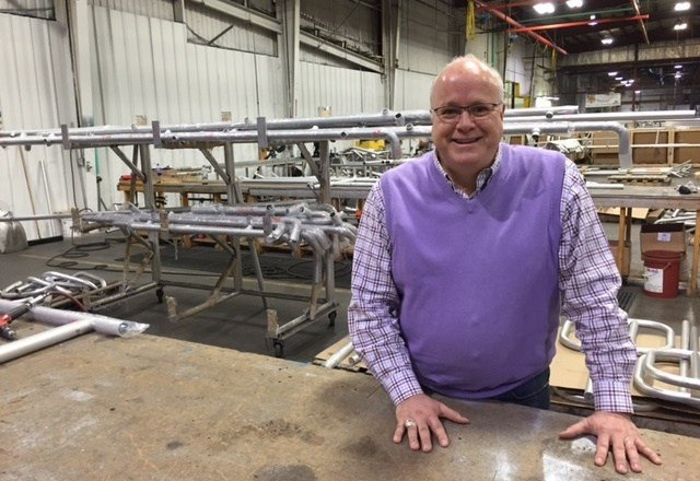 Paul Resch of Louisville manufacturer Dant Clayton