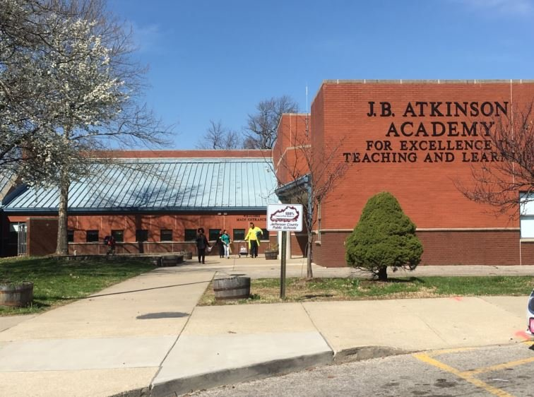 Atkinson Elementary School (Photo by Toni Konz, WDRB News)