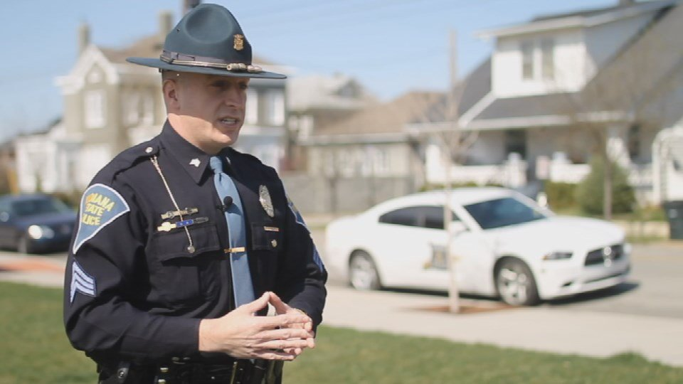 Sgt. Philip Hensley of Indiana State Police
