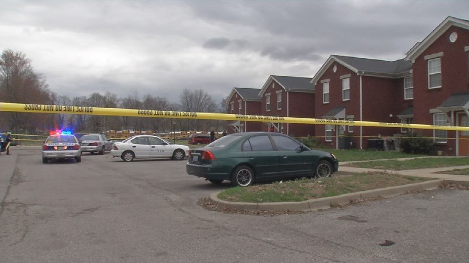 Police are looking for suspects after a man was gunned down in his car in the 2400 block of Nichols View Court in south Louisville on March 19, 2016.