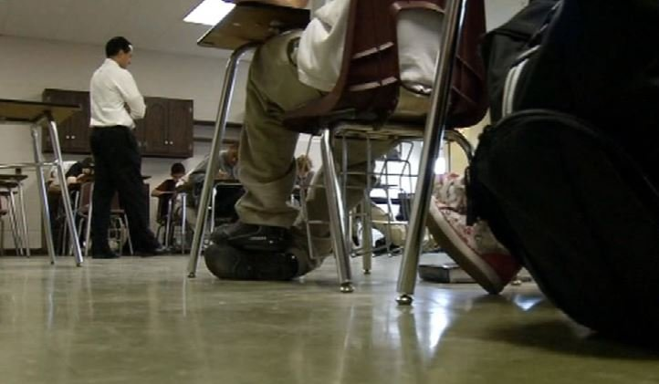 WDRB News file photo of a JCPS classroom