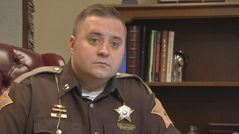 Capt. Scottie Maples with the Clark County Sheriff's Office says burglars target empty houses.