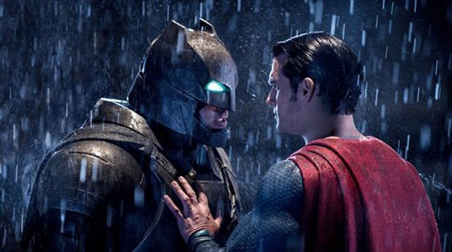 """Faster than a speeding bullet and impervious to lousy reviews, the superhero faceoff """"Batman v Superman: Dawn of Justice"""" rebounded from a smack down from critics to debut with a massive $170.1 million in North America, the sixth best opening of all-time."""