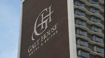 The Galt House in downtown Louisville