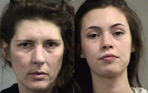 Christina Auble and Chelsie Isenberg (Source: Louisville Metro Corrections)