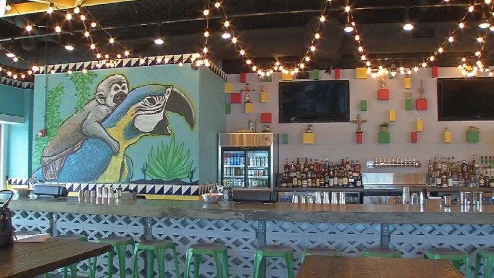 Doc's Cantina opened to the public on April 5, 2016.