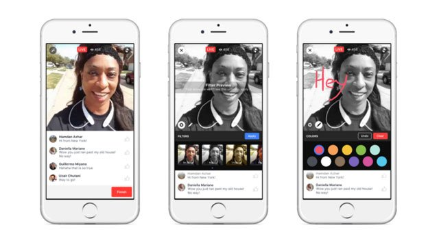 """Facebook says it wants people watching a broadcast after the fact to feel """"in"""" on the action. To achieve this, they will replay comments as they happened during the live broadcast when people watch it later. (Source: Facebook)"""