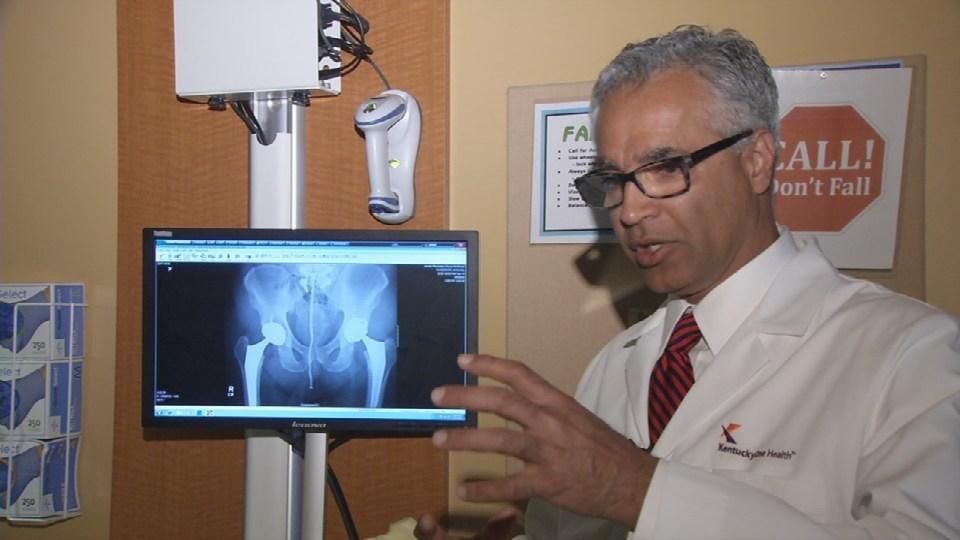 Dr. Arthur Malkani describes robotic surgery as part video game, part GPS.