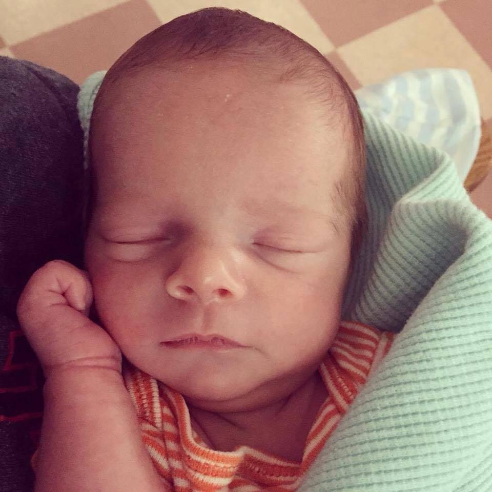 Samantha's son, Liam