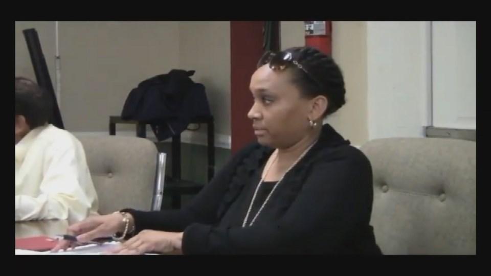 Councilwoman Kecia Copeland at Tuesday night's meeting