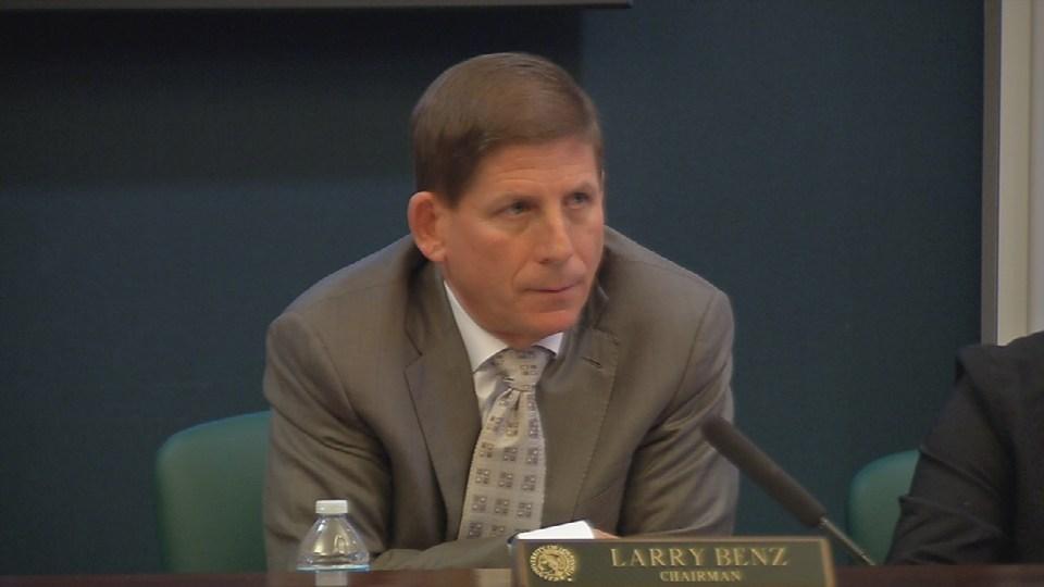 University of Louisville Board of Trustees Chairman Larry Benz