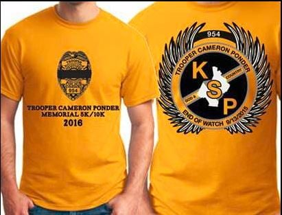 The Trooper Cameron Ponder Memorial 5/510K takes place Saturday at North Hardin High School (submitted photo)