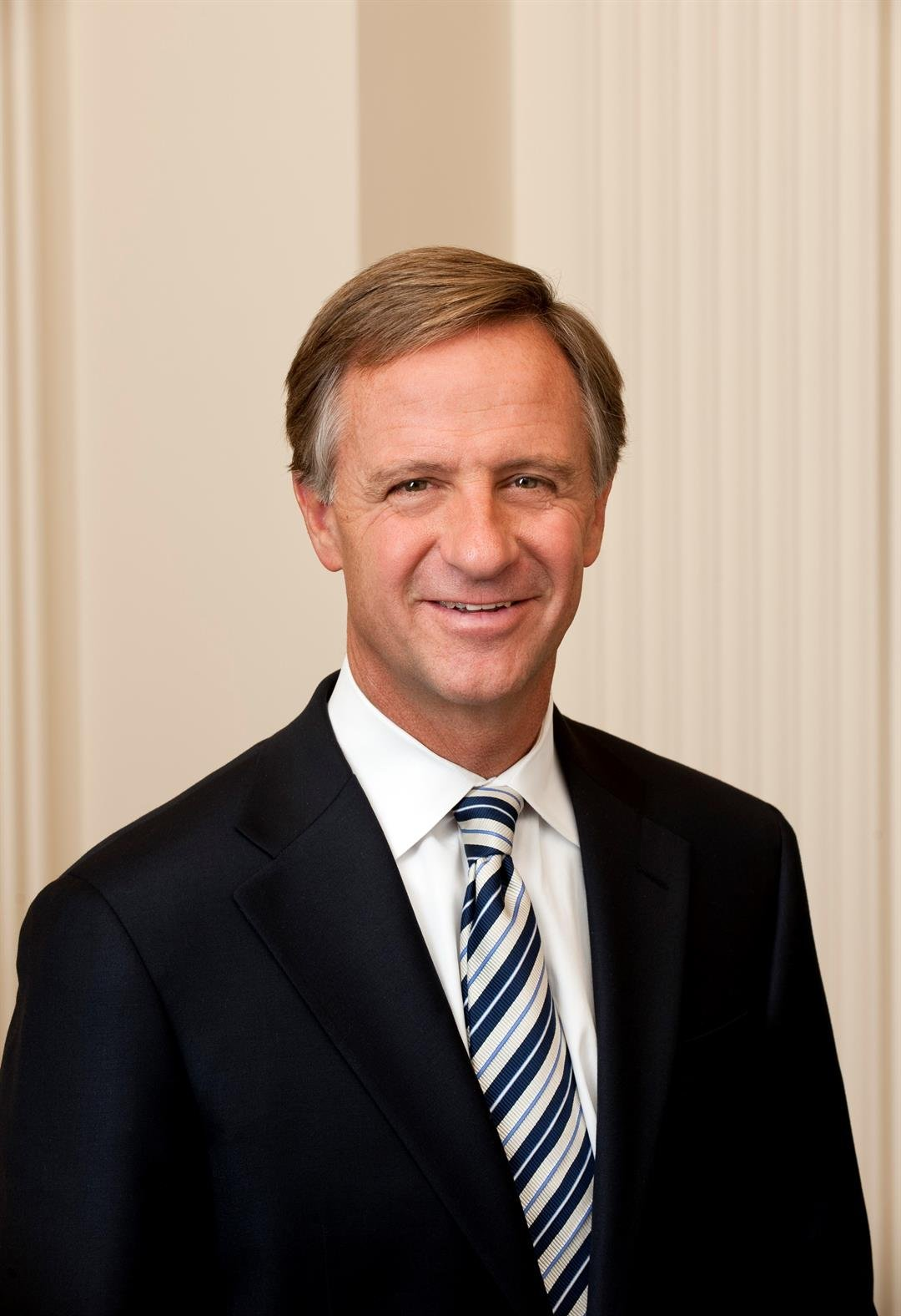Tennessee Gov. Bill Haslam. Governor's office photo.