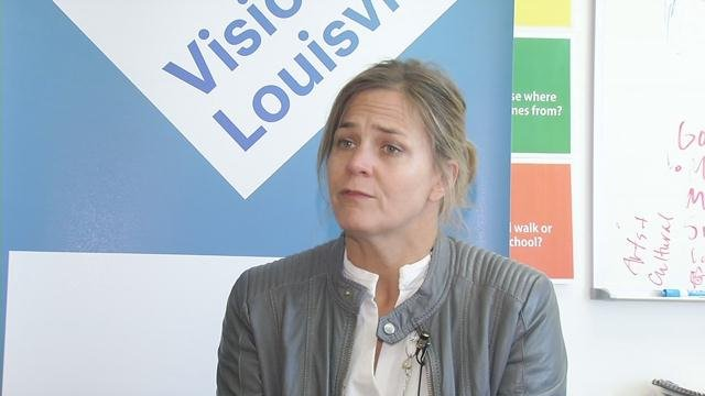 Gretchen Milliken with Louisville Forward says plans to improve the Russell neighborhood are based on input from its residents.