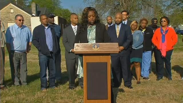 Louisville Councilwoman Jessica Green outlined a 5-point plan to stop the violence in west Louisville.