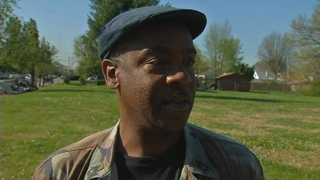 """George Carpenter, who lives in west Louisville, says he doesn't think any plan to stop the violence will work because the """"criminals have taken over."""""""