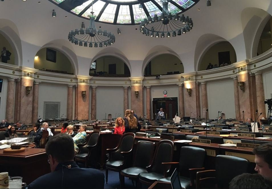 The Kentucky House of Representatives (WDRB file photo)