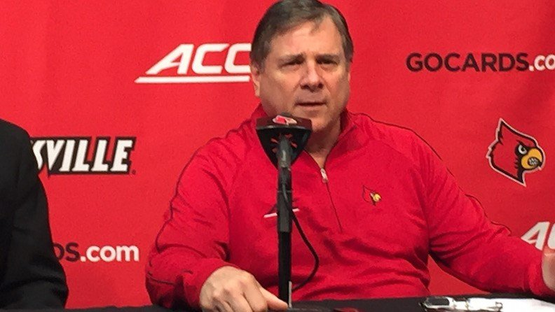 Louisville athletic director Tom Jurich. WDRB photo by Eric Crawford.