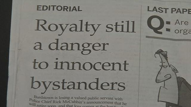 Editorial from The Kentucky Standard
