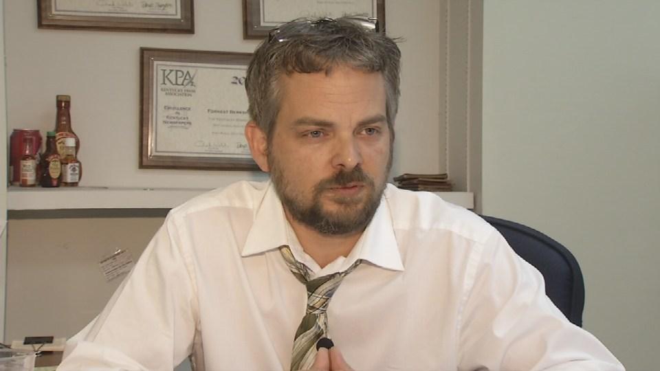 Forrest Berkshire, Editor, The Kentucky Standard