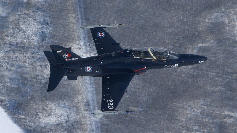 Photo courtesy: The Royal Canadian Air Force