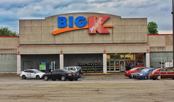 The now closed Kmart on Poplar Level Road.