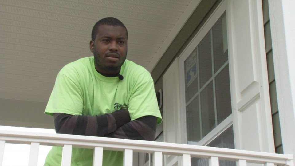 Tony Butler will own the Habitat for Humanity house at 3511 Hale Ave. It was once a vacant and overgrown lot.