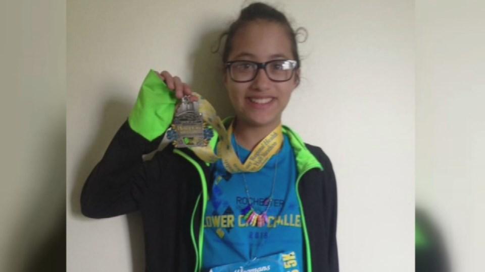 LeeAdianez Rodriguez ran a half-marathon by mistake.