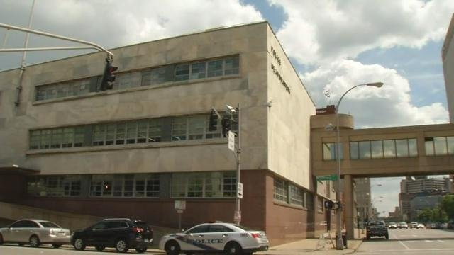The old jail above LMPD headquarters will temporarily house about 100 low level inmates to help ease over crowded conditions at the main jail.