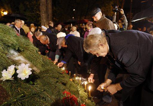 (AP Photo/Sergei Chuzavkov)