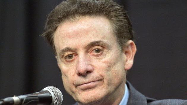 Rick Pitino. (Associated Press photo by Timothy Easley).