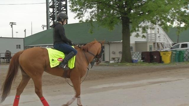 Whitmore ran third in the Arkansas Derby and is entered in this year's Kentucky Derby.