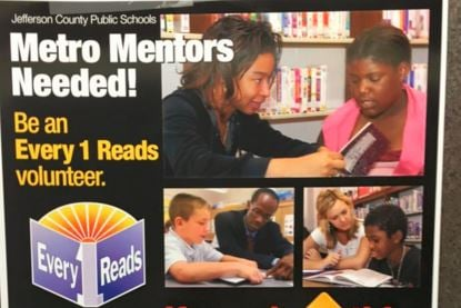 A JCPS flier about Every 1 Reads program (WDRB News file photo)