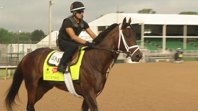 Outwork worked out at Churchill Downs.