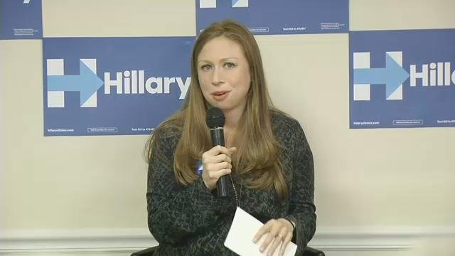 Chelsea Clinton campaigned for her mother in Lexington on April 29, 2016.