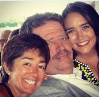 Bailey Romans with her parents, Dale Romans and Tammy Fox (submitted)